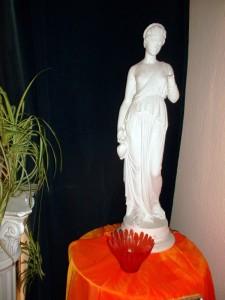 Ayurveda Statue